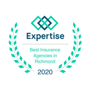 Award - 2020 Expertise Best Insurnace Agencies in Richmond